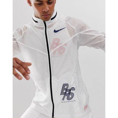 NIKE Nike Running - BRS - Weiße Trainingsjacke - Weiß