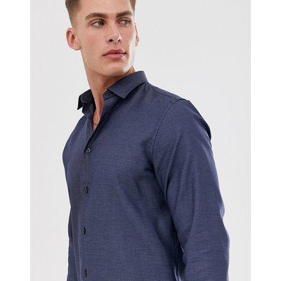 SELECTED Selected Homme - Schmal geschnittenes Hemd - Blau