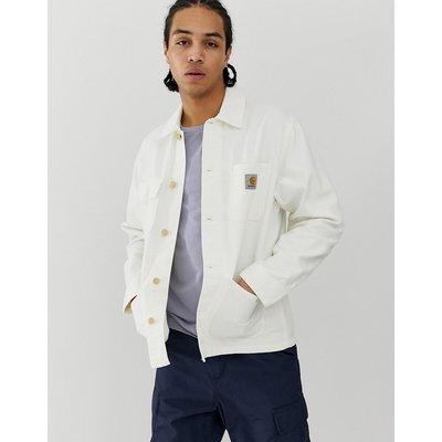 CARHARTT Carhartt WIP - Michigan - Gewachste Jacke aus 100% Bio-Baumwolle - Weiß