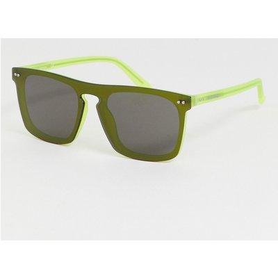 CALVIN KLEIN Calvin Klein - CK19501S - Quadratische Sonnenbrille - Grau