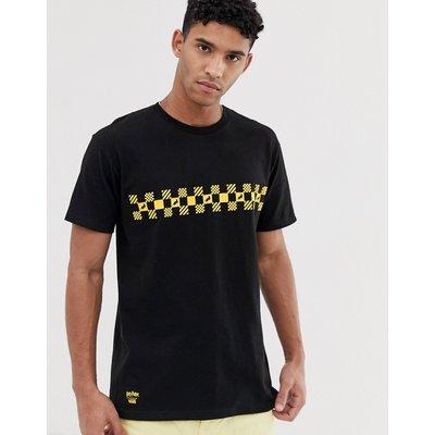 VANS Vans X Harry Potter - Hufflepuff - Schwarzes T-Shirt - Schwarz