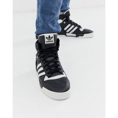 ADIDAS adidas Originals - Rivalry - Hoch geschnittene Sneaker in Schwarz - Weiß