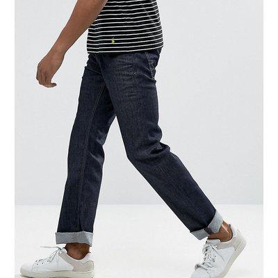 DIESEL Diesel - Larkee - Gerade geschnittene Jeans in 084HN Rinse Wash - Navy