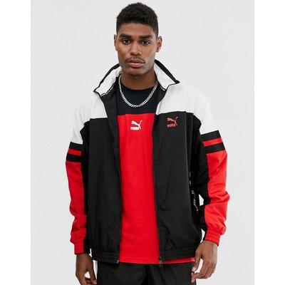 PUMA Puma - Rote Trainingsjacke mit Logoband - Rot