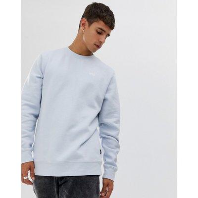 VANS Vans - Blaues Sweatshirt mit kleinem Logo - Grau