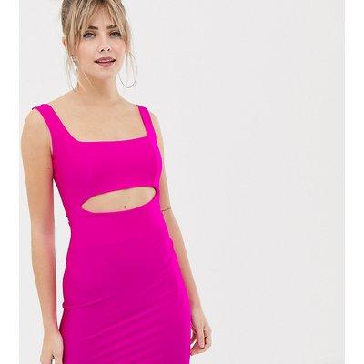 NEW LOOK New Look - Kleid mit Aussparungen in Neonrosa - Rosa