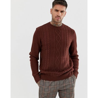 NEW LOOK New Look - Pullover mitZopfmuster