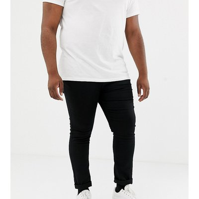 NEW LOOK New Look Plus - Enge Jeans in Schwarz - Schwarz