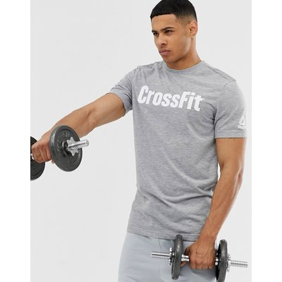 REEBOK Reebok - Crossfit - Graues T-Shirt mit Logo - Grau