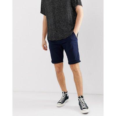 TOM TAILOR Tom Tailor - Chino-Shorts in Navy - Navy
