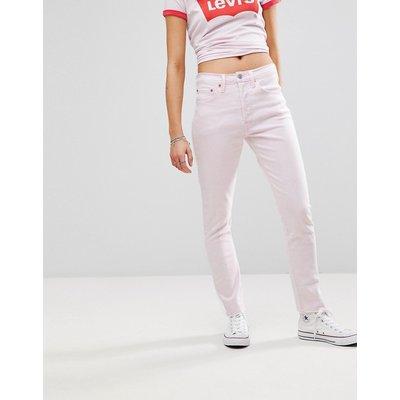 Jeans im Sale - Levi's - 501 - Skinny-Jeans mit hohem Bund - Rosa