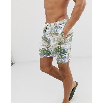 ABERCROMBIE & FITCH Abercrombie & Fitch - Bunte Boardshorts mit Hawaimuster