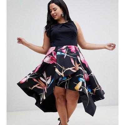 Coast Plus Katie floral midi dress