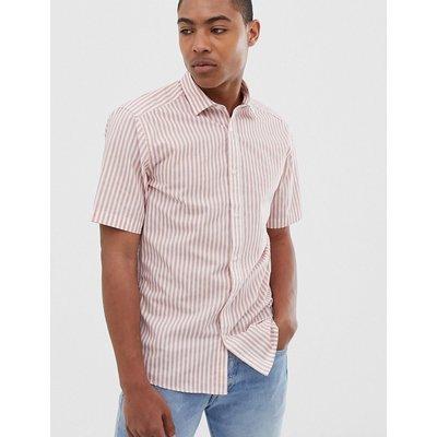 ONLY & SONS Only & Sons - Kurzärmliges Hemd mit Streifen - Rosa
