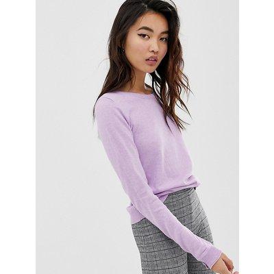 ESPRIT Esprit - Leichter Pullover mit Rundhalsausschnitt in Lavendel - Violett