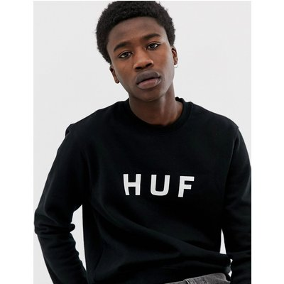 HUF HUF - Original - Sweatshirt mit Logo - Schwarz