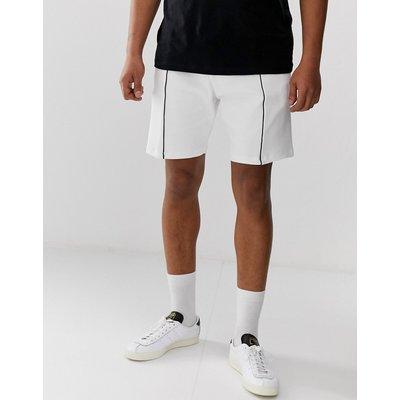 RIVER ISLAND River Island - Weiße Jersey-Shorts