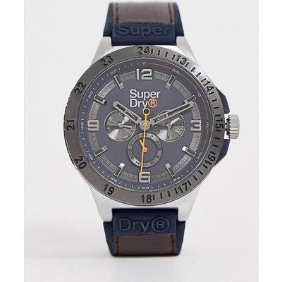 SUPERDRY Superdry - Braune Chronographen-Uhr für Herren
