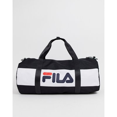 FILA Fila - Ted - Schwarze Sportttasche mit großem Logo - Schwarz
