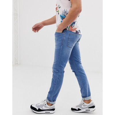 DIESEL Diesel - Sleenker - Enge Jeans in heller 086AK-Waschung - Blau