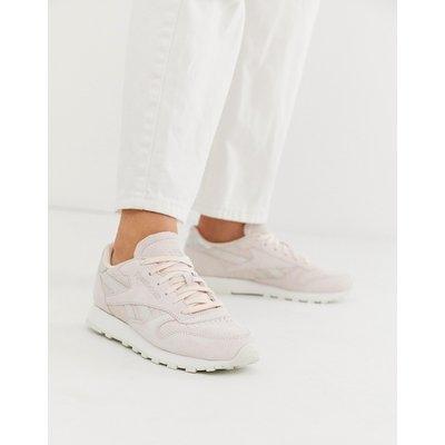 REEBOK Reebok Classics - Sneaker aus schimmerndem Leder - Rosa