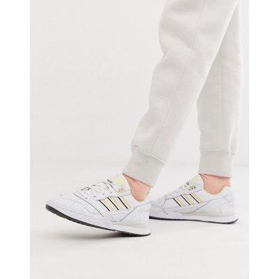 ADIDAS adidas Originals - A-R - Sneaker in Weiß und Gelb - Weiß