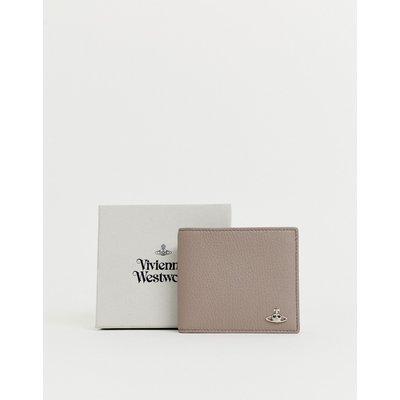 VIVIENNE WESTWOOD Vivienne Westwood - Brieftasche in Braungrau - Steingrau