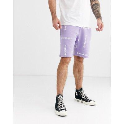 CONVERSE Converse - Lila Shorts mit Logo - Violett