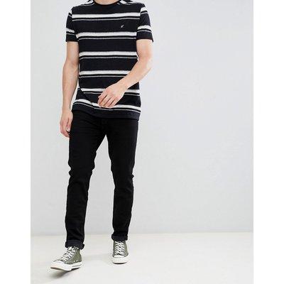ABERCROMBIE & FITCH Abercrombie & Fitch - Schmale Jeans in Schwarz - Schwarz
