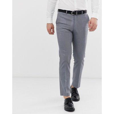 JACK & JONES Jack & Jones - Premium - Schmal geschnittene Anzughose in Grau kariert - Grau