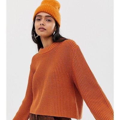 WEEKDAY Weekday - Pullover in Dunkel-Orange - Orange