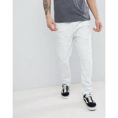 Jeans im Sale - ASOS DESIGN - Jeans in ausgebleichter