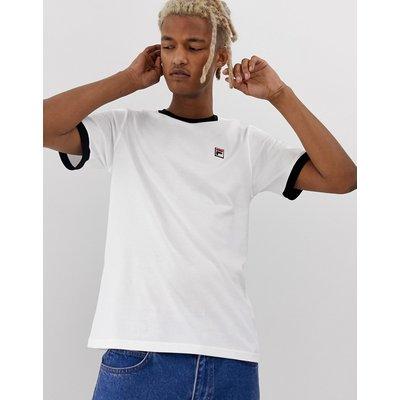 FILA Fila - Marconi - Ringer-T-Shirt in Weiß - Weiß