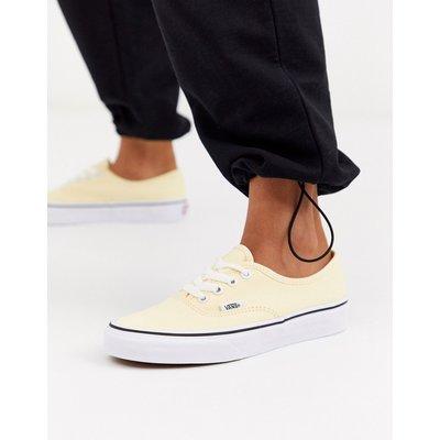 VANS Vans Authentic - Sneaker aus recyceltem Polyester in Creme - Weiß