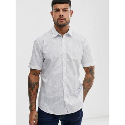ESPRIT Esprit - Elegantes Hemd mit feinen Streifen - Weiß