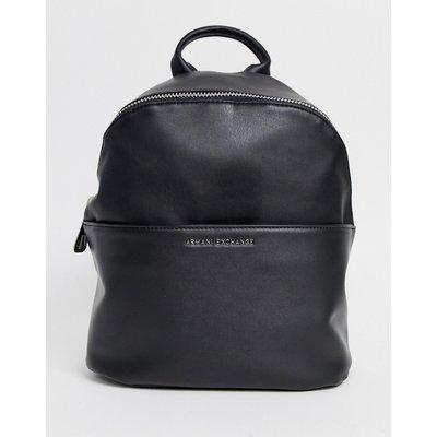 ARMANI EXCHANGE Armani Exchange - Rucksack mit Tasche auf der Vorderseite - Schwarz