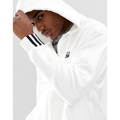 ADIDAS adidas Originals - RYV - Weißer Kapuzenpullover mit Logo-Print - Weiß