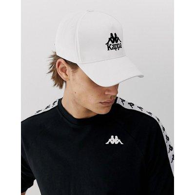 KAPPA Kappa - Authentic Vigoleno - Weiße Cap mit Logo-Stickerei - Weiß