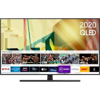 "Samsung QE55Q70T 55"" 4K Ultra HD Smart QLED TV"