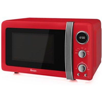 Retro 800W Digital Microwave - 5054855231077