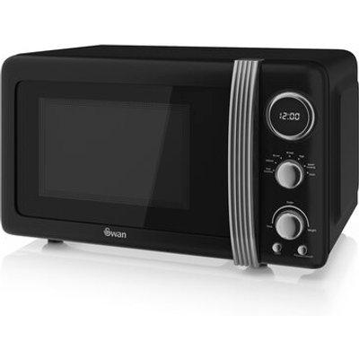 Retro 800W Digital Microwave - 5054855231251