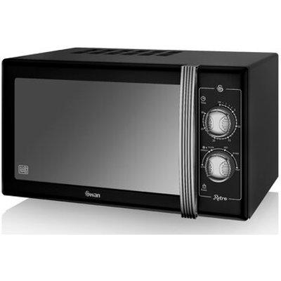 Retro 25L 900W Countertop Microwave - 5055322517021