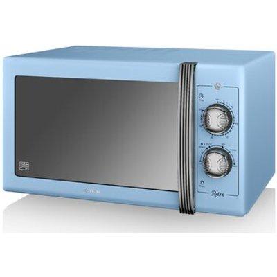 Retro 25L 900W Countertop Microwave - 5055322517007