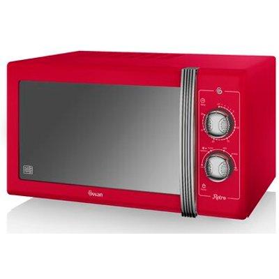 Retro 25L 900W Countertop Microwave - 5055322517120