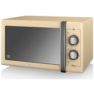 Retro 25L 900W Countertop Microwave - 5055322517045