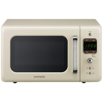 5031117813288 | Daewoo KOR7LBKC 20L Touch Control Microwave in Gloss Cream