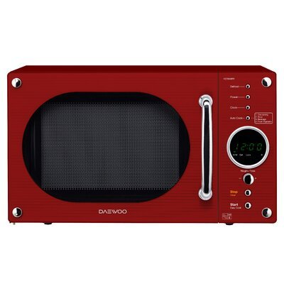 Daewoo KOR8A9RR Touch Control Microwave Oven in Red - 5031117813349