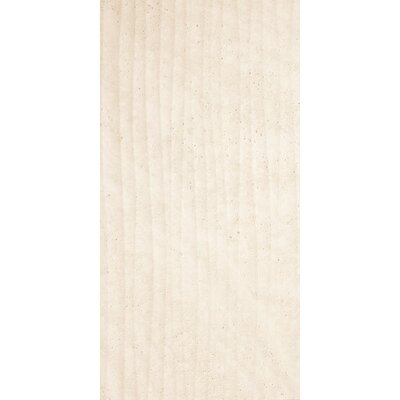 Origin Ditto Wave Décor 24.8 x 49.8cm Ceramic Field Tile in Matte Beige