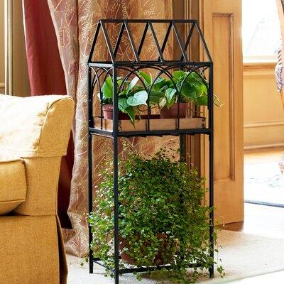 Terrarium Plant Stand, Black