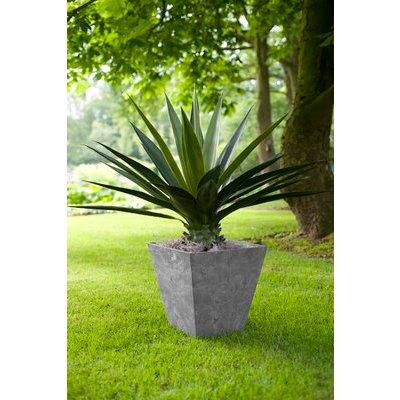 Artstone Square Plant Pot, Grey